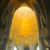 It's almost impossible to put words to the amazing beauty and wonder of Gaudy's  Sagrada Familia.  There is no alternative...you have to see it for yourself.