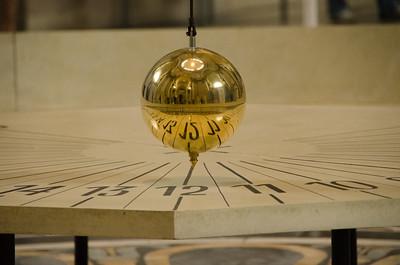 Foucault's Pendulum - detail