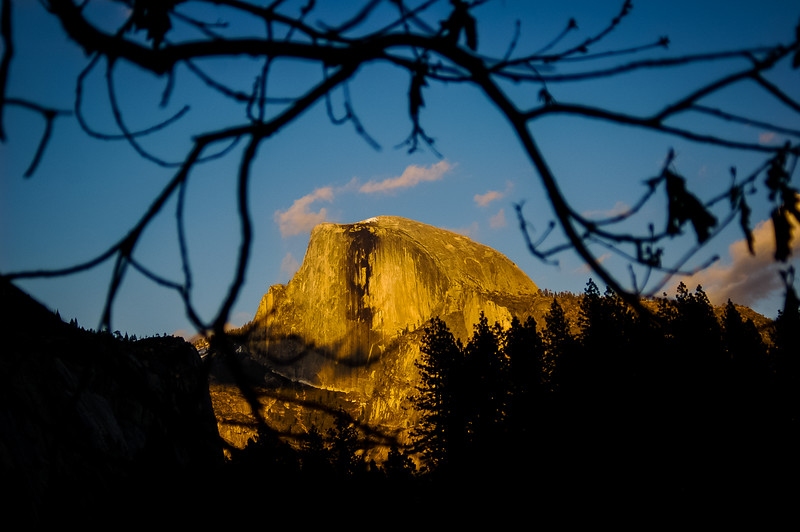 Half Dome Peek-a-boo