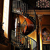 The Miraculous Spiral Staircase in the Loretto Chapel, Santa Fe, NM
