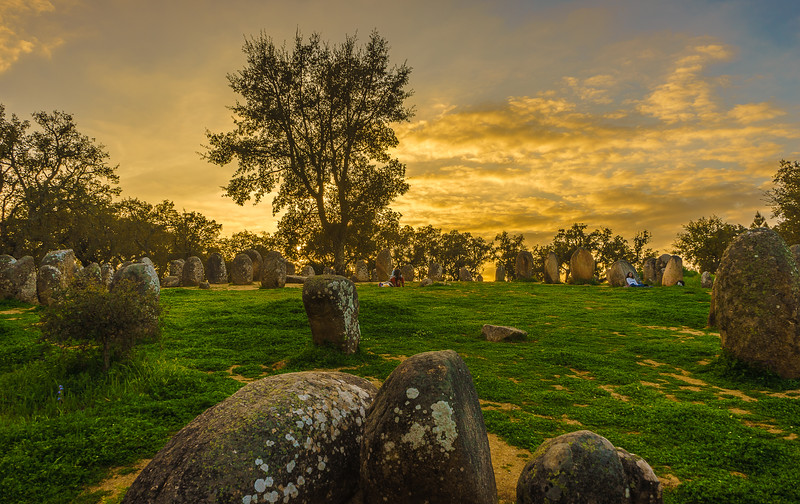 Portugal Cromlech of the Almendres Megalithic Magic Photography 32 By Messagez com