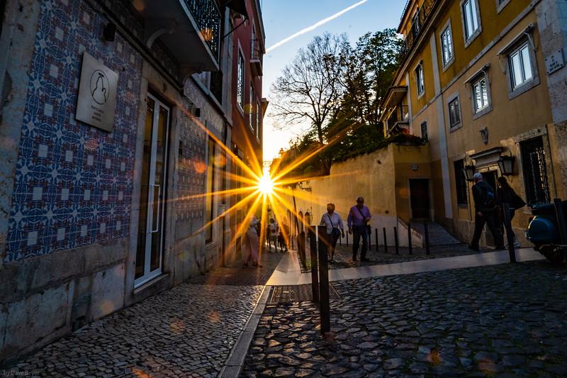 Lisbon, Alfama neighborhood