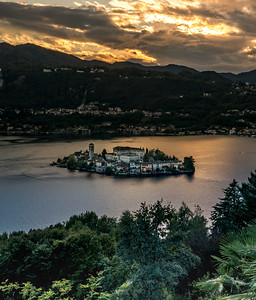 San Giulio Sunset