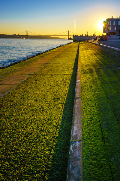 Original Portugal Lisbon Bridge Sunshine Photography By Messagez com