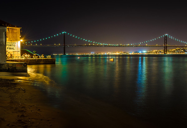Best of Lisbon Bridge at Night Photography 11 By Messagez com