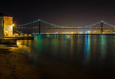 Best of Lisbon Bridge at Night Photography 11 By Messagez com