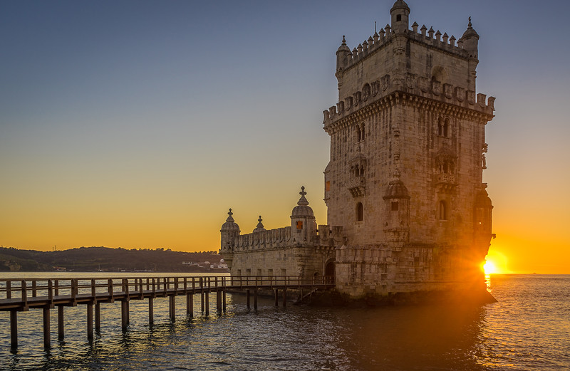 Best of Portugal Lisbon Tower Sunset Photography 20 By Messagez com