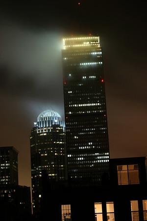 Hazy Boston