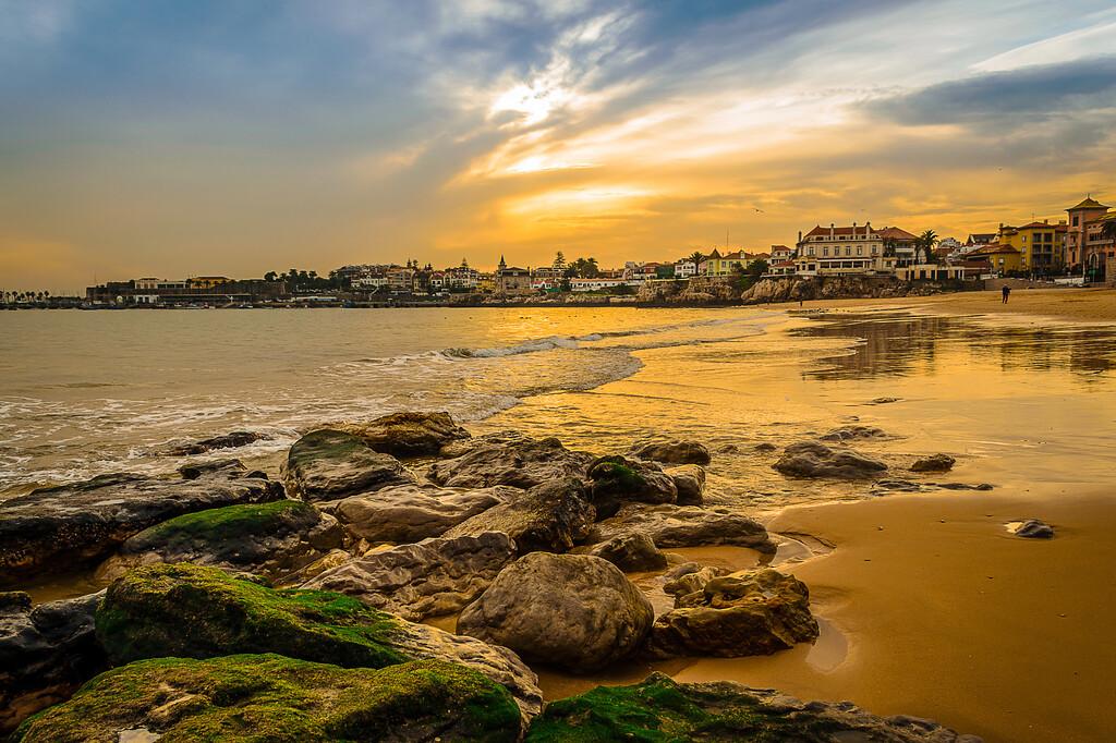 Original Portugal Cascais Coast Photography By Messagez com