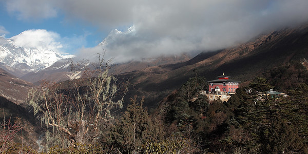 The monastery - Thyangboche