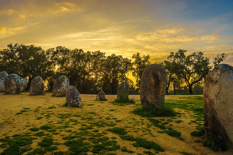 Portugal Cromlech of the Almendres Megalithic Magic Photography 47 By Messagez com