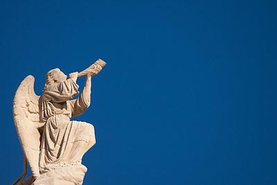 Statue on Notre Dame de la Garde - Marseille