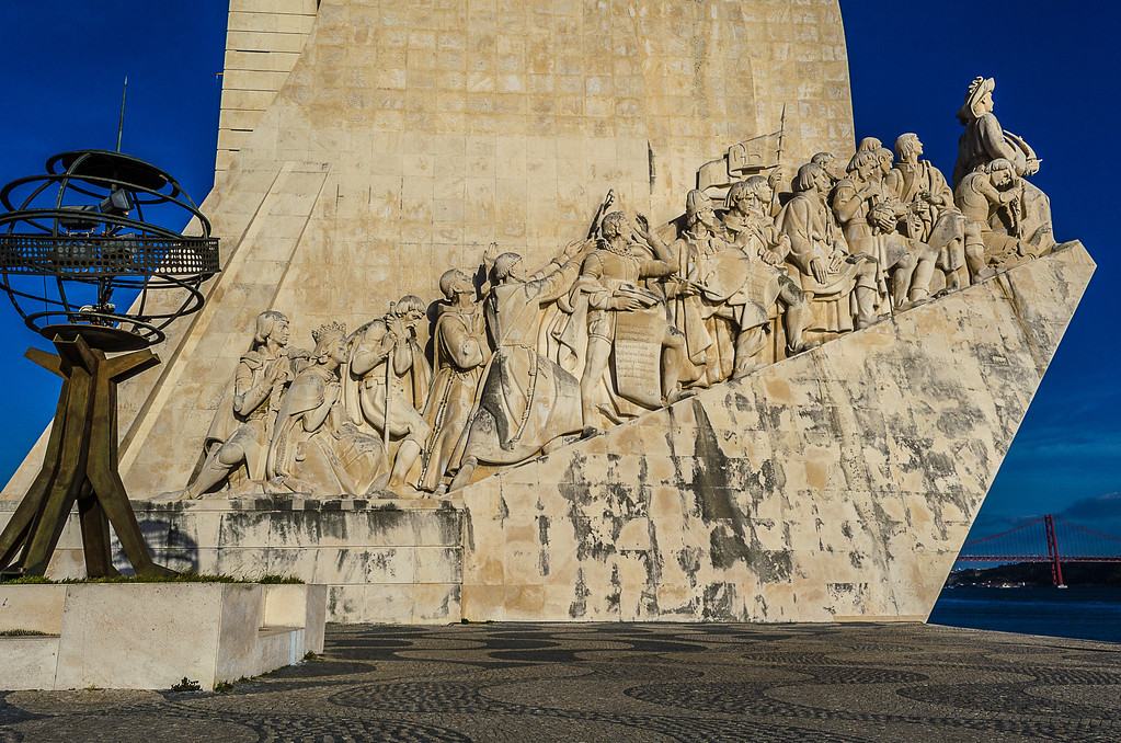 Portugal Lisbon Monument to the Discoveries Photography 6 By Messagez com