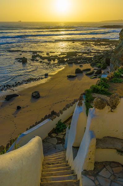 Stairway Lisbon Beach Coast Beauty Photography By Messagez com