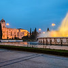 Lisbon Geronimos Fountain Blue Hour Fine Art Photography 3 By Messagez com