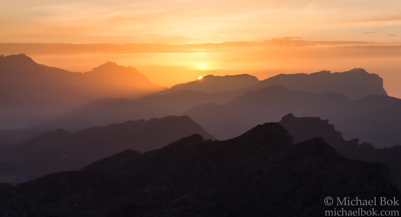 Sunset at Cap Formentor