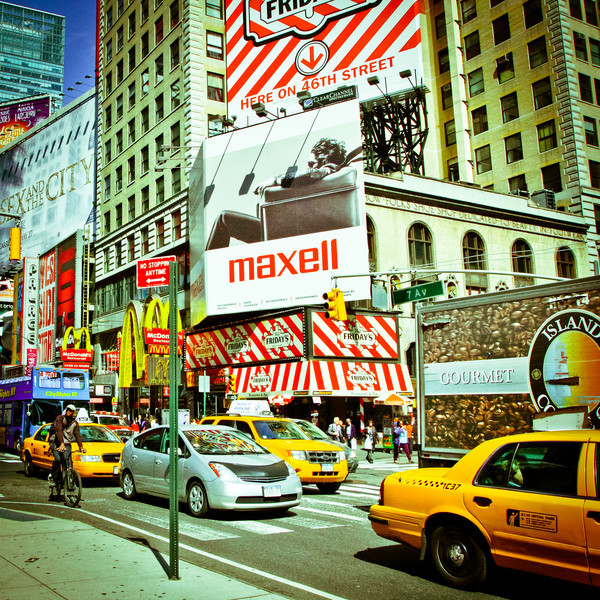 New York City, NY: Near Times Square in Manhattan.