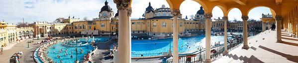 Szécsenyí Bath House, Budapest, Hungary
