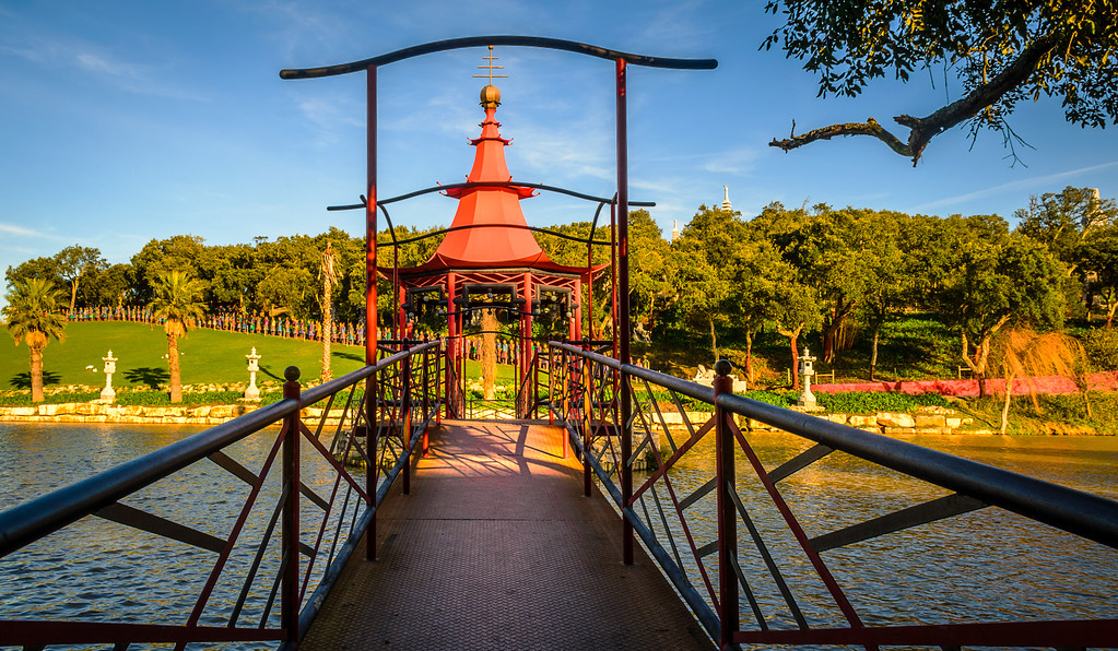 Buddha Eden Passage Photography By Messagez.com