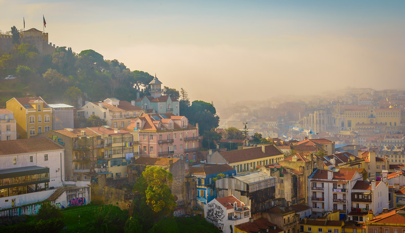 Foggy Lisbon Photo By Messagez com