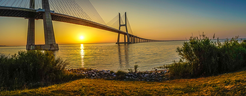 Best of Lisbon Bridge Sunrise Photography 12 By Messagez com