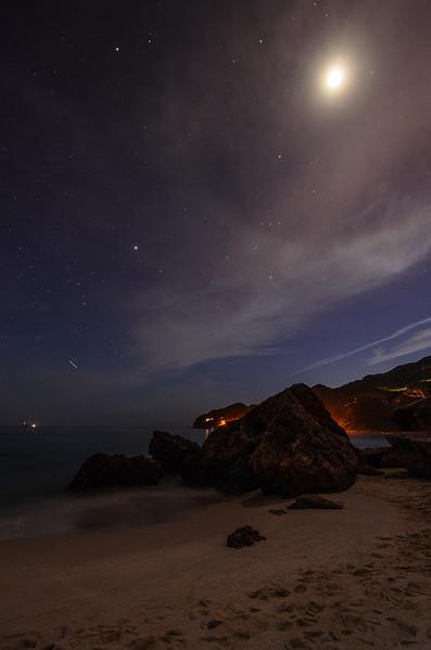 Moon Halo Portugal Night Sky Beauty Art Photography By Messagez com