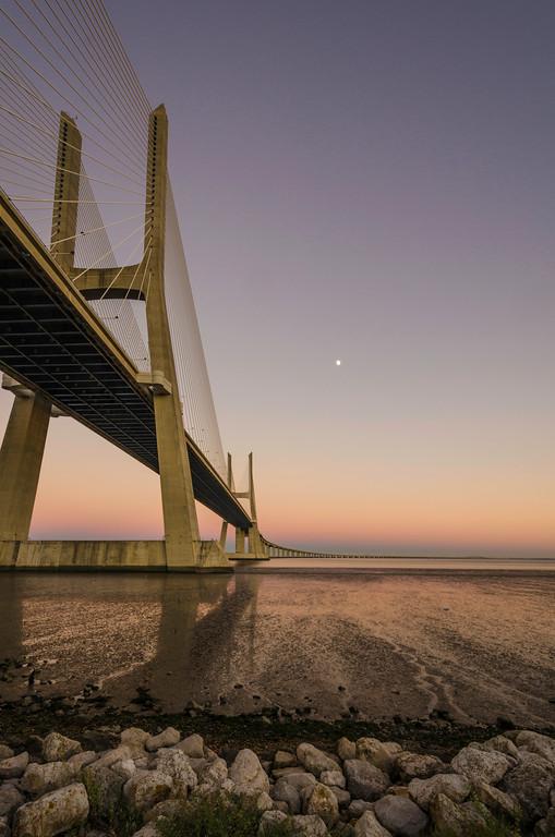 Another View at Lisbon Vasco da Game Bridge Photography 5 Messagez com