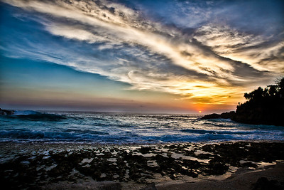 Sunset in Nusa Lembongan