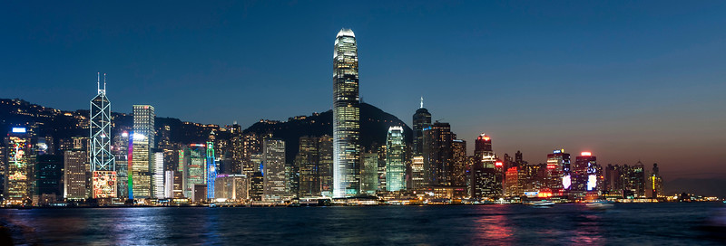 Hong Kong Harbour.