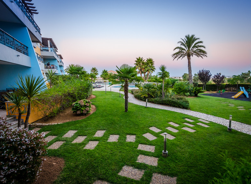 Image of Lagos Algarve Property at Sunset