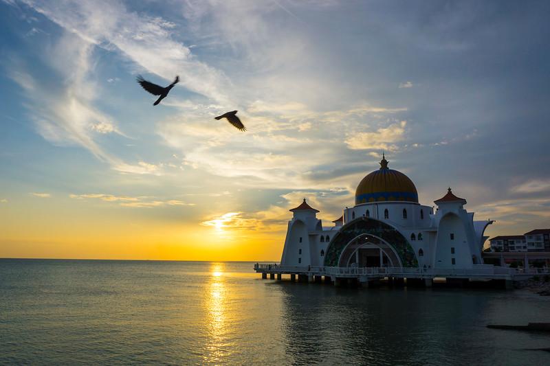 Masjid Terapung Selat, Malacca, Malaysia