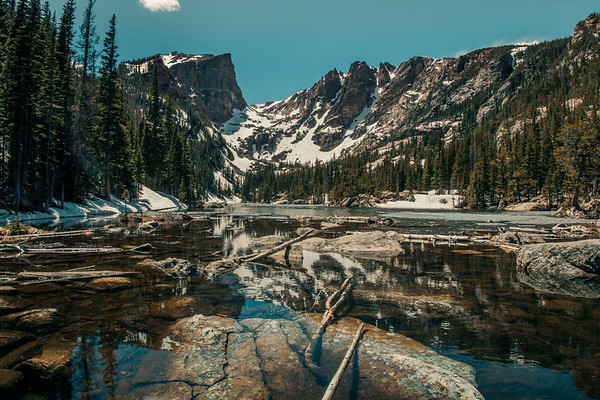 Snowy Dream Lake