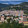 The town of Bosa, founded in 1112 along the Temo River on the west coast of Sardinia, Italy