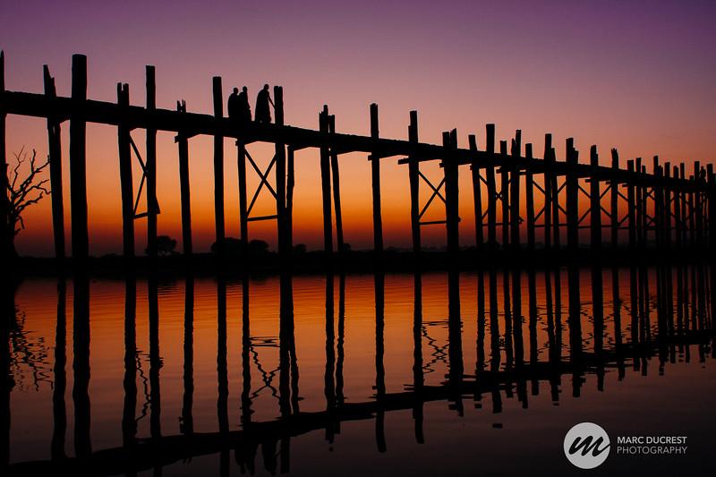 Tek Bridge, Amarapura, Myanmar