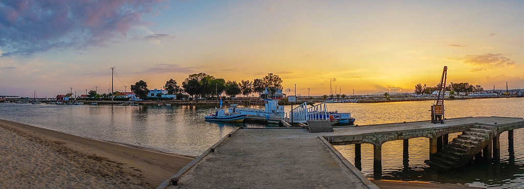 Best of Tavira Algarve Portugal Sunset Panorama Photography 2 By Messagez com