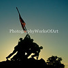Iwo Jima Statue at Sunrise