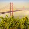 Original Lisbon 25th of April Bridge Landscape Photography 12 By Messagez com