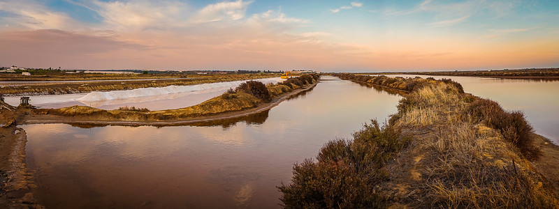 Portugal Salt Lake Panorama Photography By Messagez com