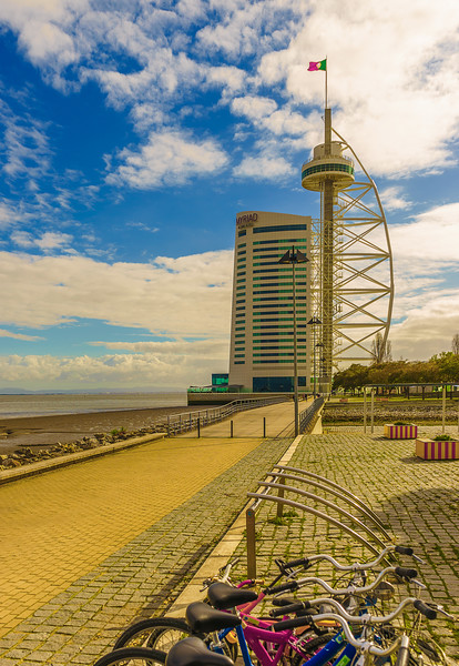 Original Expo Lisbon Tower Photography By Messagez com