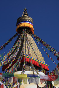 Prayer flags - Bodnath stupa