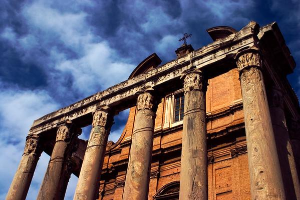 Roman Forum, Rome. 2006