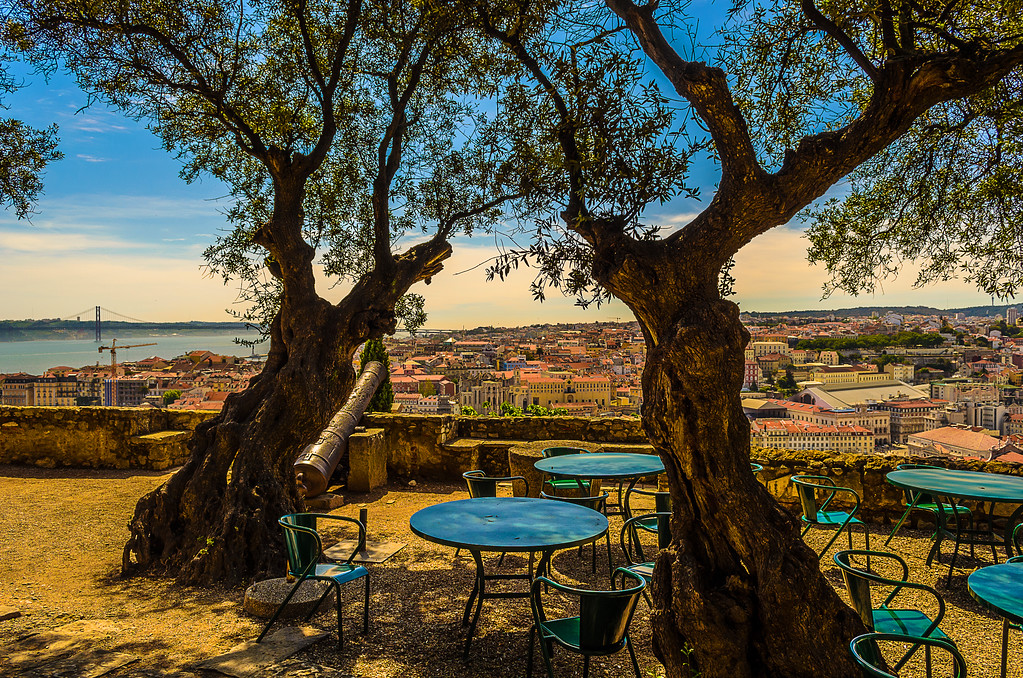 Original Portugal Lisbon Castle Photography 4 By Messagez com