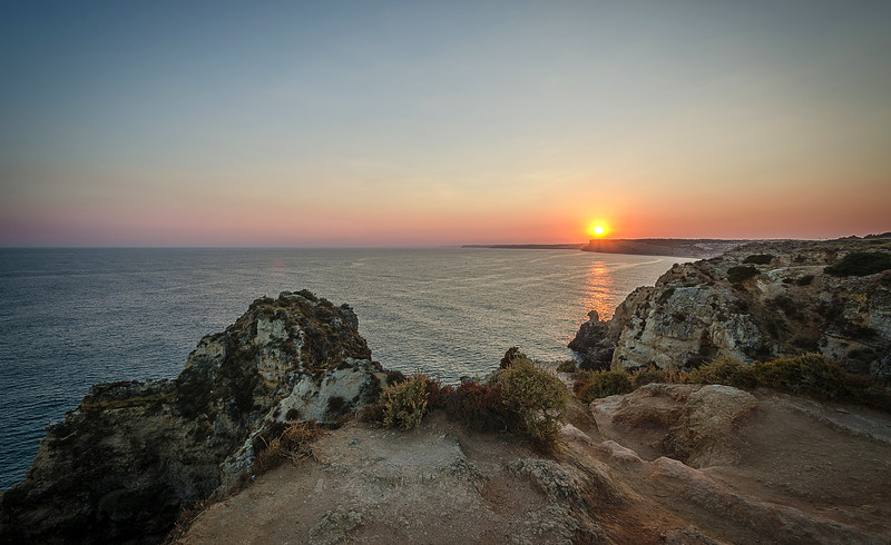 Original Algarve Sunset Viewpoint Fine Art Photography  3 By Messagez com