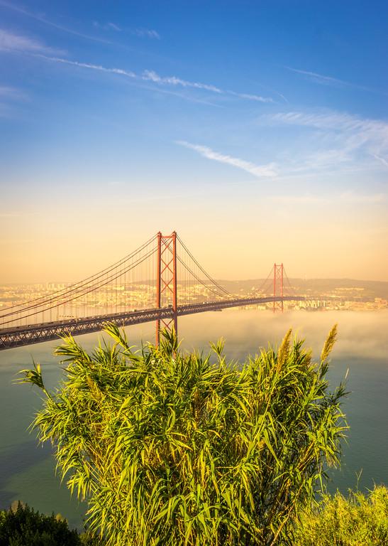 Original Lisbon 25th of April Bridge Landscape Photography 16 By Messagez com