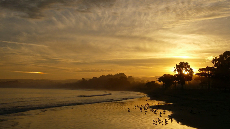 Sunrise in Monterey, California