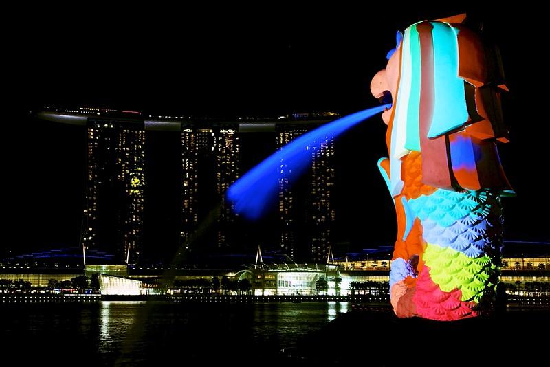 Merlion sculpture, Singapore