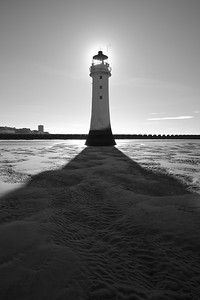 Lighthouse at Low Tide