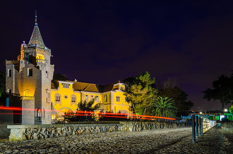Lisbon Cascais By Night Art Photography By Messagez com
