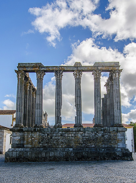 Portugal Roman Temple of Évora Fine Art Photography By Messagez com