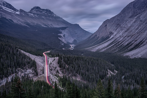 Big Bend Icefields Parkway